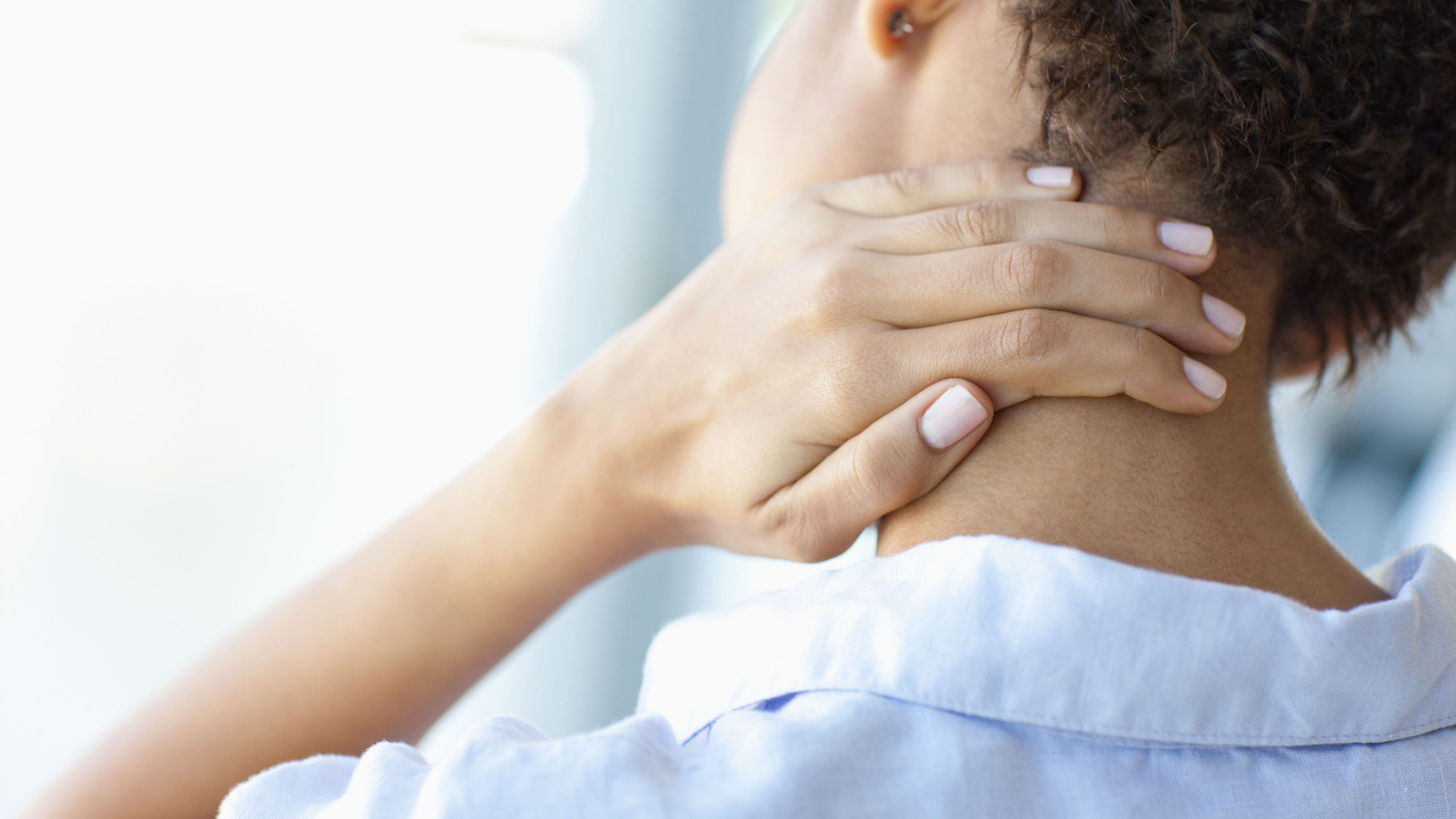 Neck pain sometimes gets on your nerves